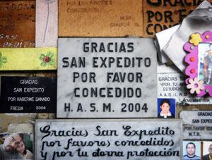 """Párroco por incidentes en santuario San Expedito: """"Esto daña no solo una imagen"""""""